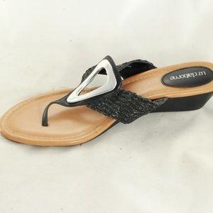 Like New LIZ CLAIBORNE Low Sandals